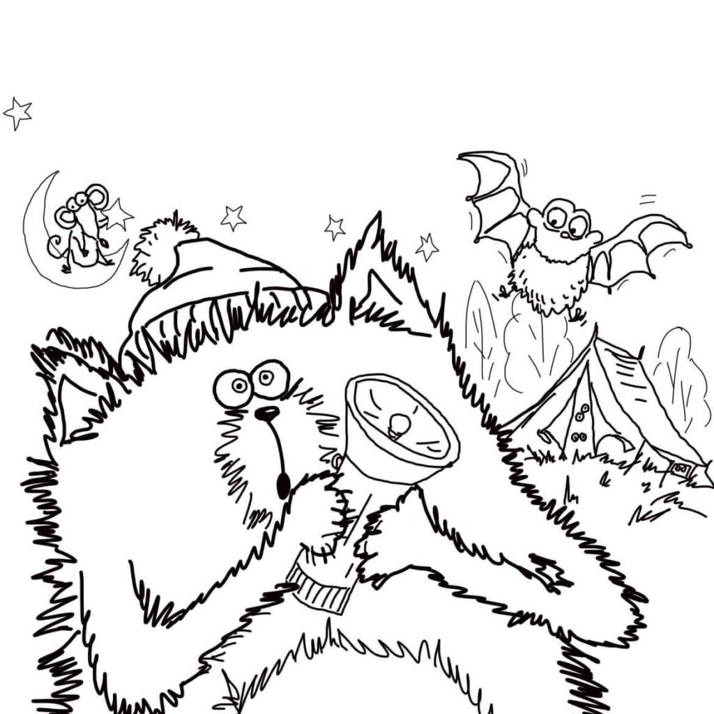 Merry Christmas Splat Coloring Pages With Thank You The Cat Activities