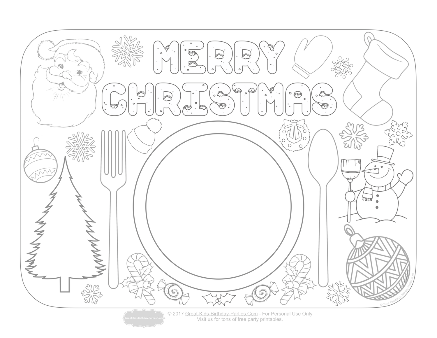 Merry Christmas Teacher Coloring Pages With