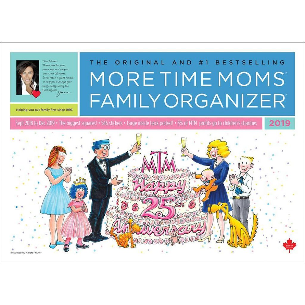 Mom S Busy Year Calendar 2019 With 9781926644745 Family Organizer Wall More Time Moms