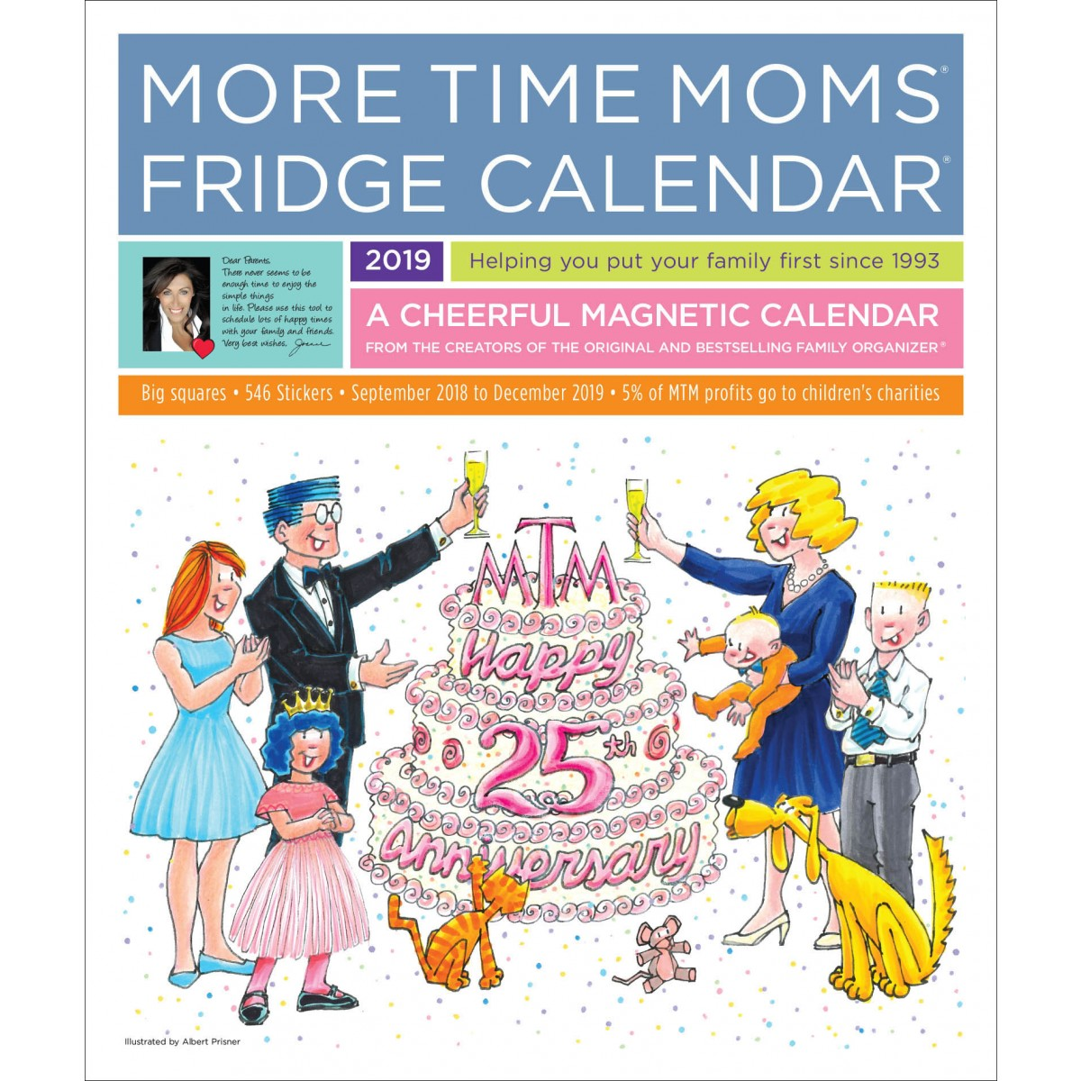 Mom S Busy Year Calendar 2019 With Fridge 2018 More Time Moms