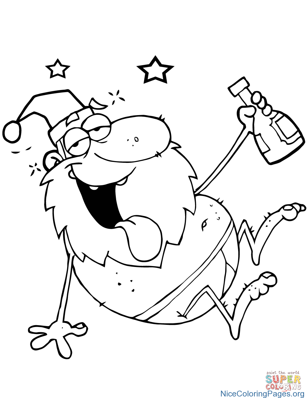 Mrs Santa Claus Coloring Pages With ColoringPages