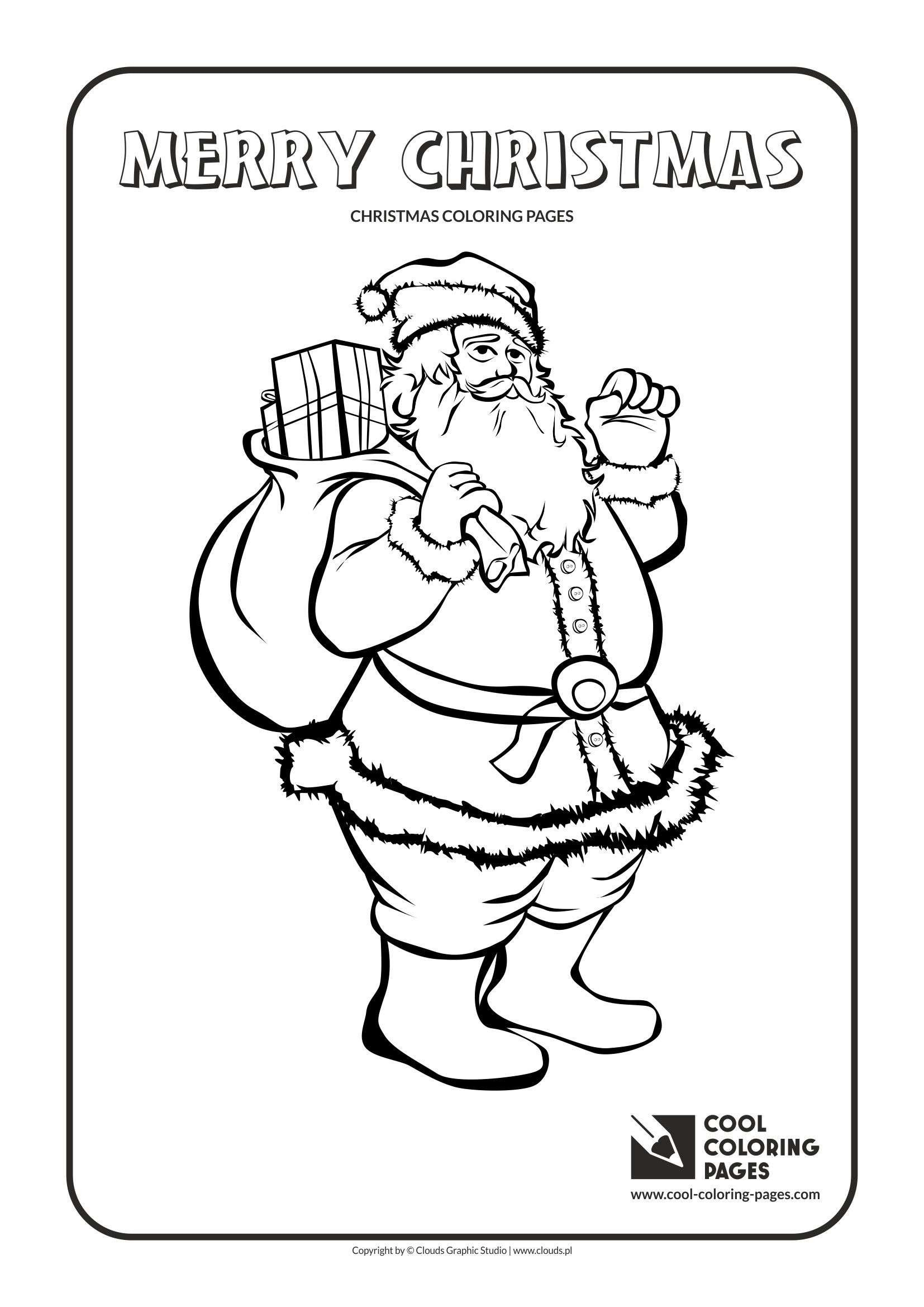 Ms Santa Claus Coloring Pages With Christmas Games Com New Valid