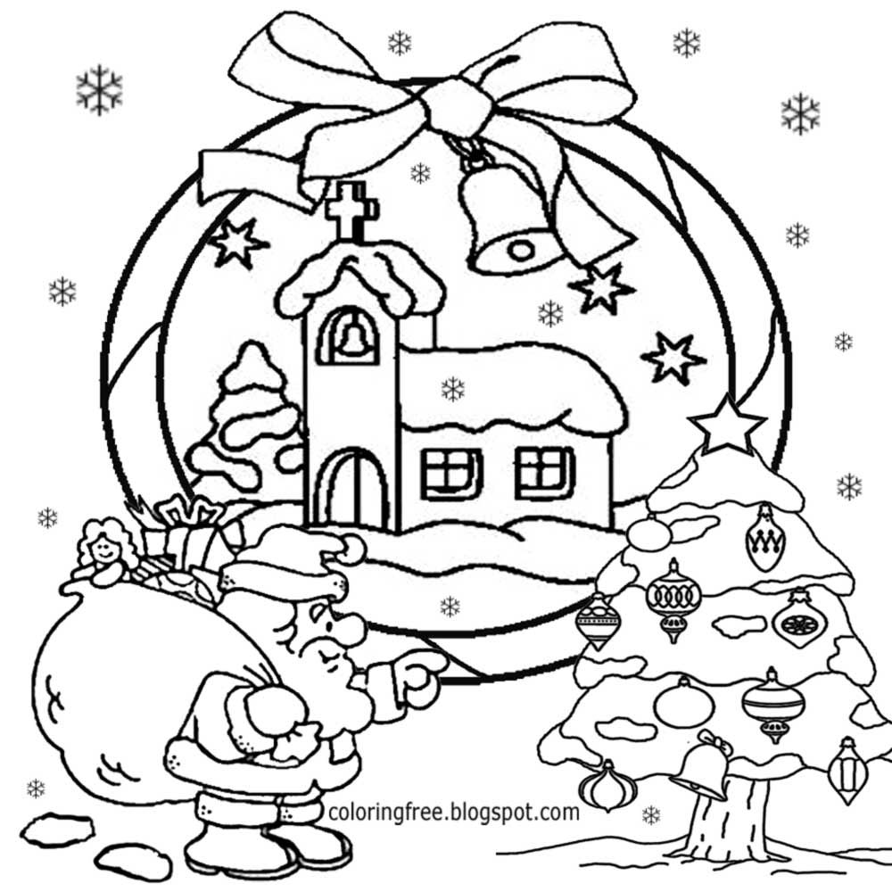 Ms Santa Claus Coloring Pages With Pencil Drawing At GetDrawings Com Free For Personal