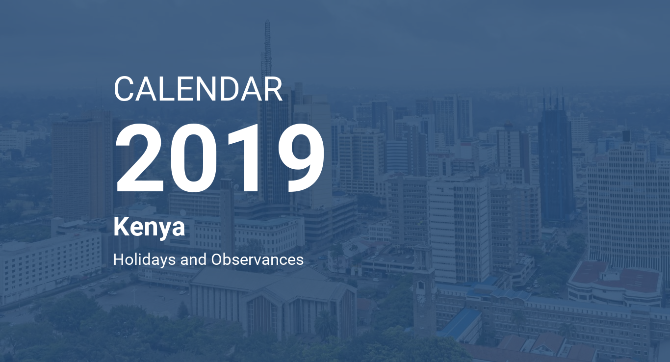 Next Year Calendar 2019 Kalnirnay With Kenya