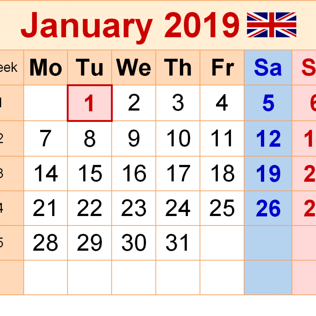 Next Year Calendar 2019 Malayalam With January UK Printable Templates