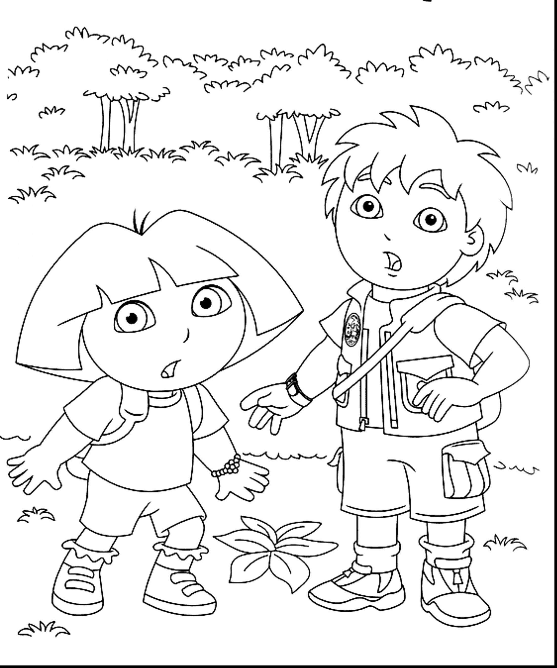 Nick Jr Christmas Coloring Pages With Dora Team Umizoomi