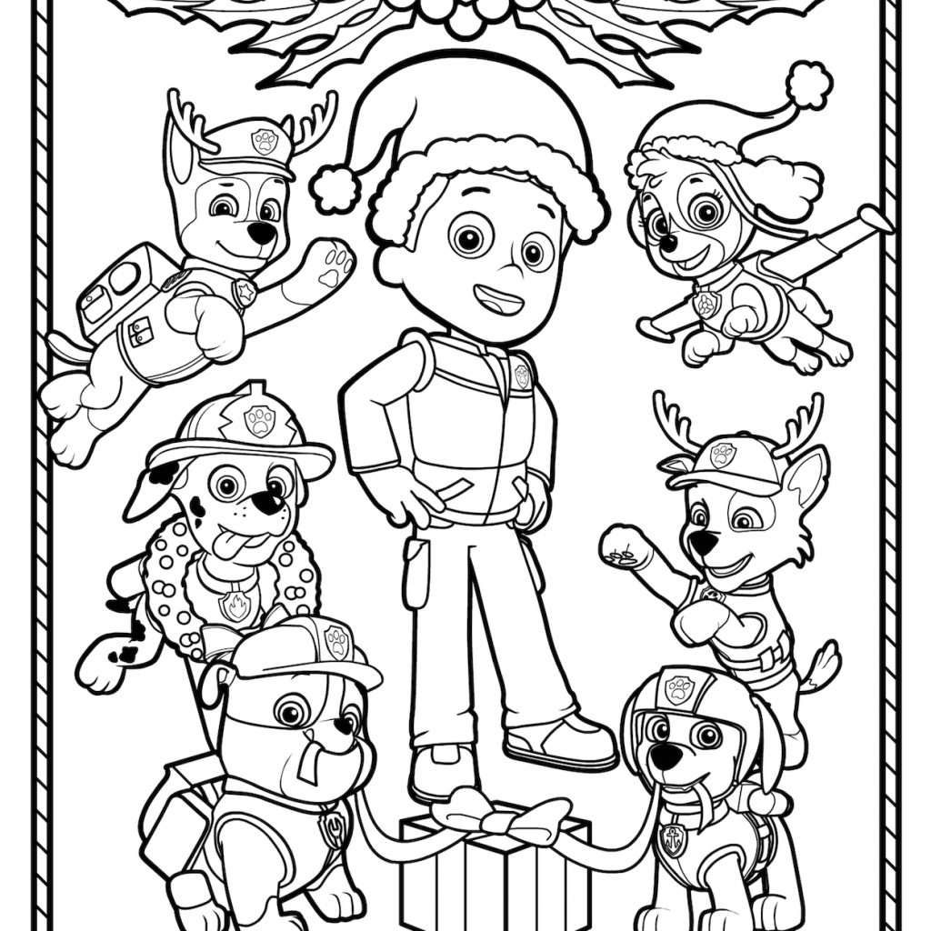 Nick Jr Christmas Coloring Pages With Pinterest