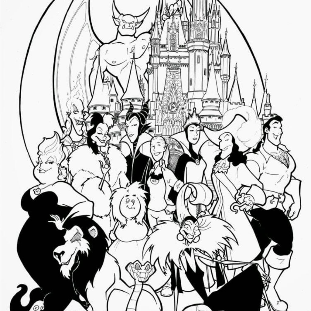 Nightmare Before Christmas Coloring Pages For Adults With Adult 2525794