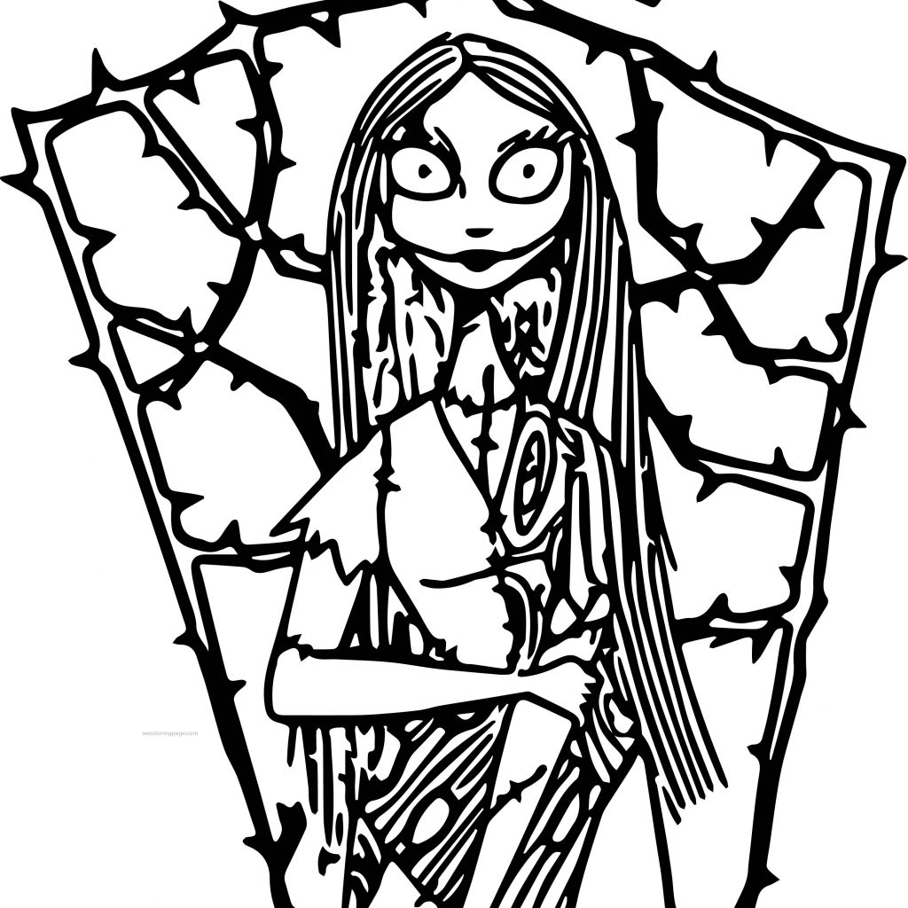 Nightmare Before Christmas Coloring Pages For Adults With Free Printable Best