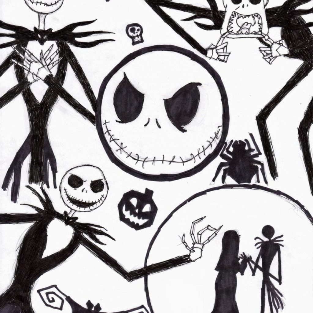 Nightmare Before Christmas Zero Coloring Pages With COLORING PAGES Halloween Decor And