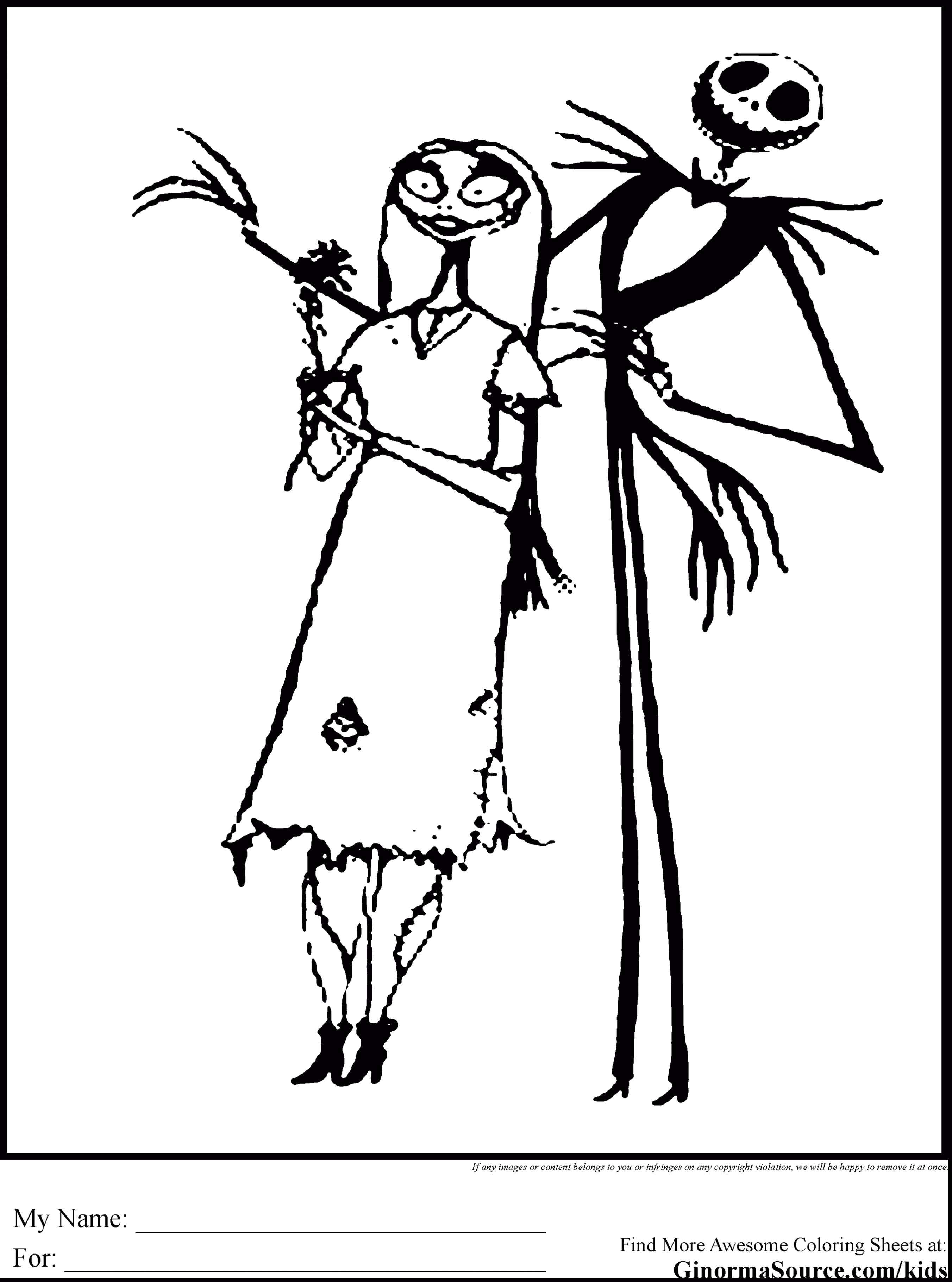 Nightmare Before Christmas Zero Coloring Pages With Free Printable Pumpkin Stencils Lovely 84