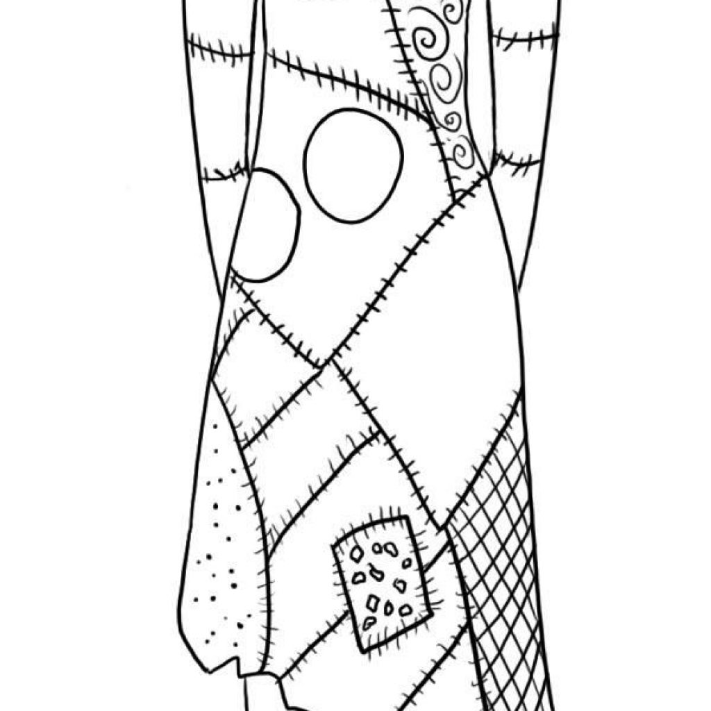 Nightmare Before Christmas Zero Coloring Pages With Sally Google Search Ink Pinterest
