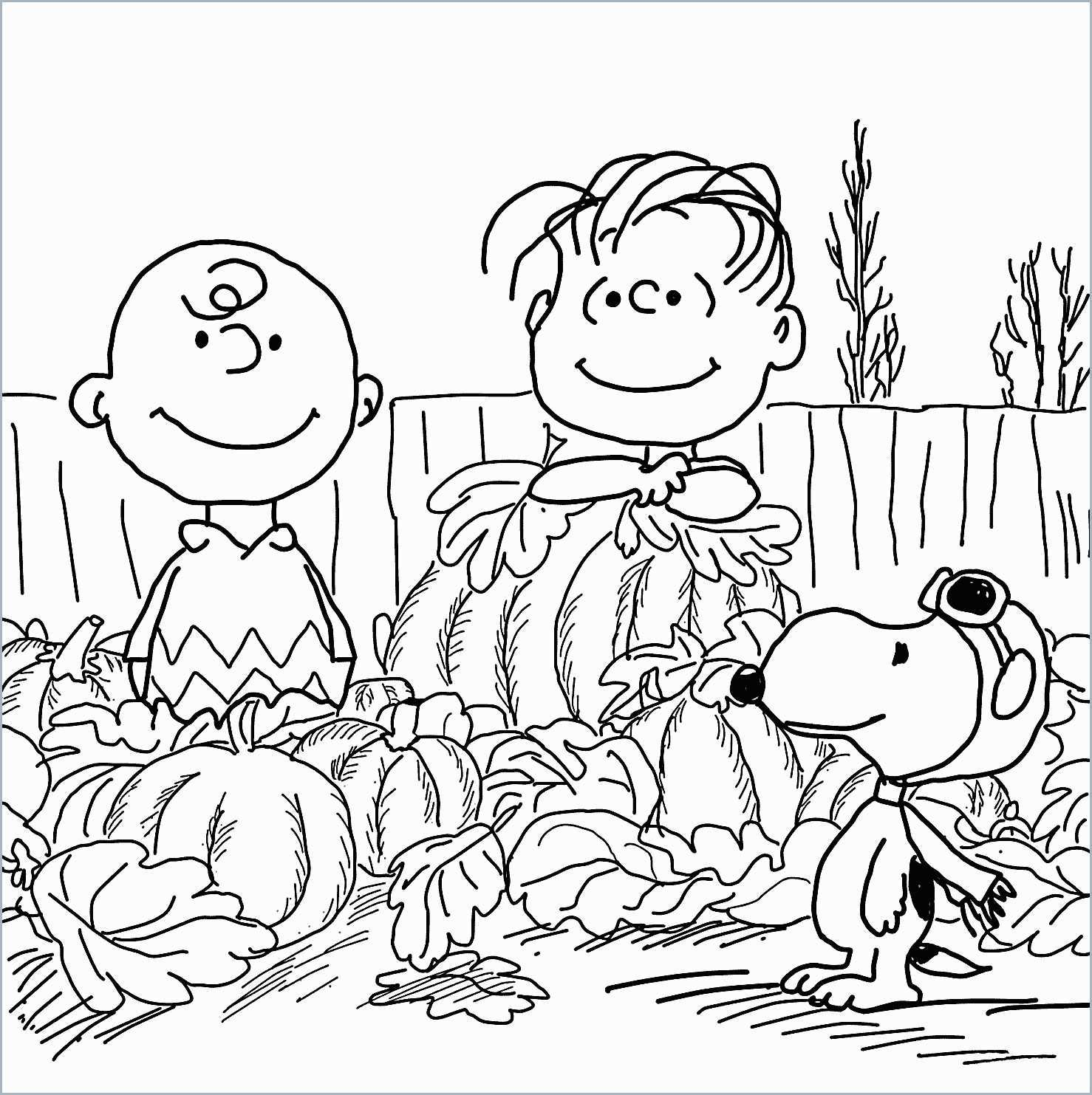 Printable Charlie Brown Christmas Coloring Pages With Book Amazing Free
