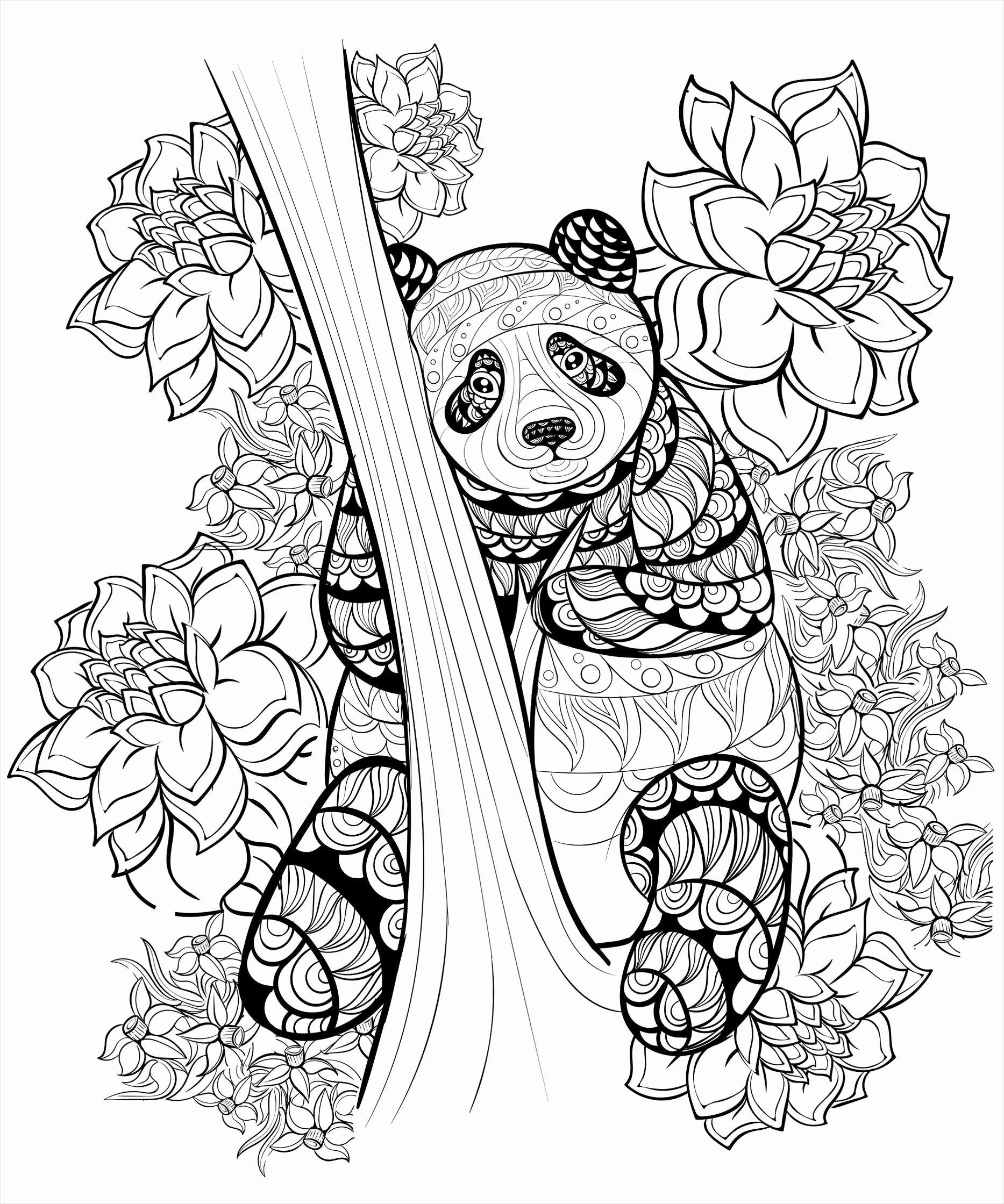 Printable Christmas Candles Coloring Pages With Tree For Kids