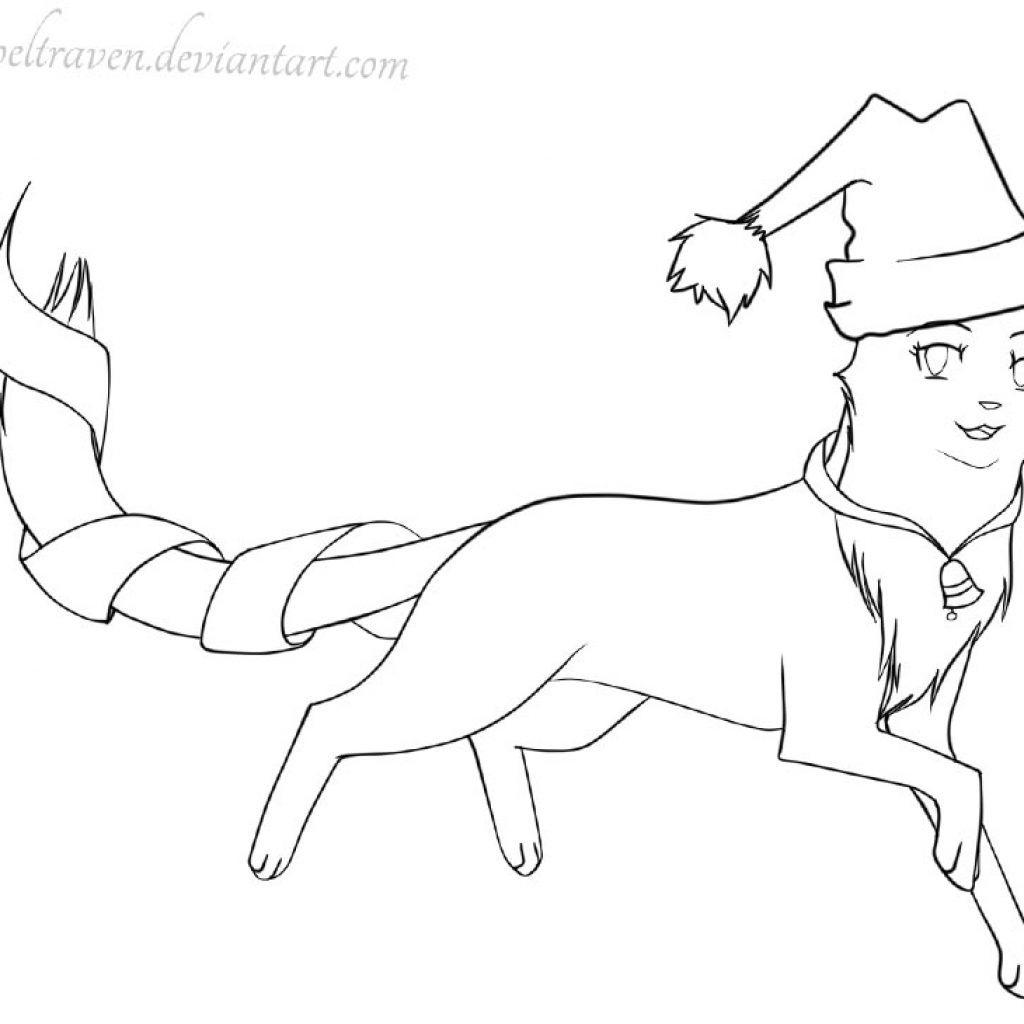printable-christmas-cat-coloring-pages-with-in-the-hat-by-tigerpeltraven-free