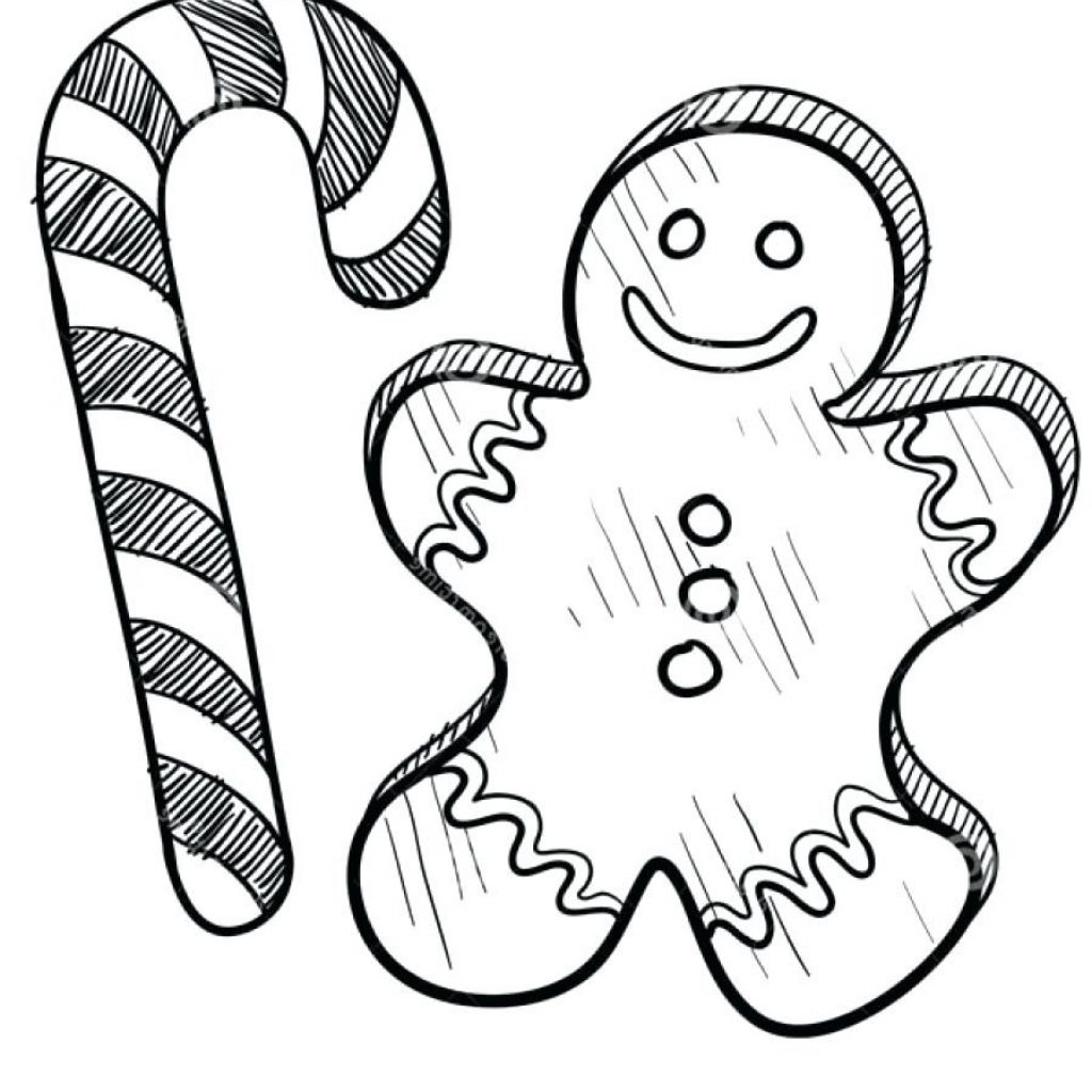 Printable Christmas Coloring Pages Candy Canes With Of For Teenagers 0