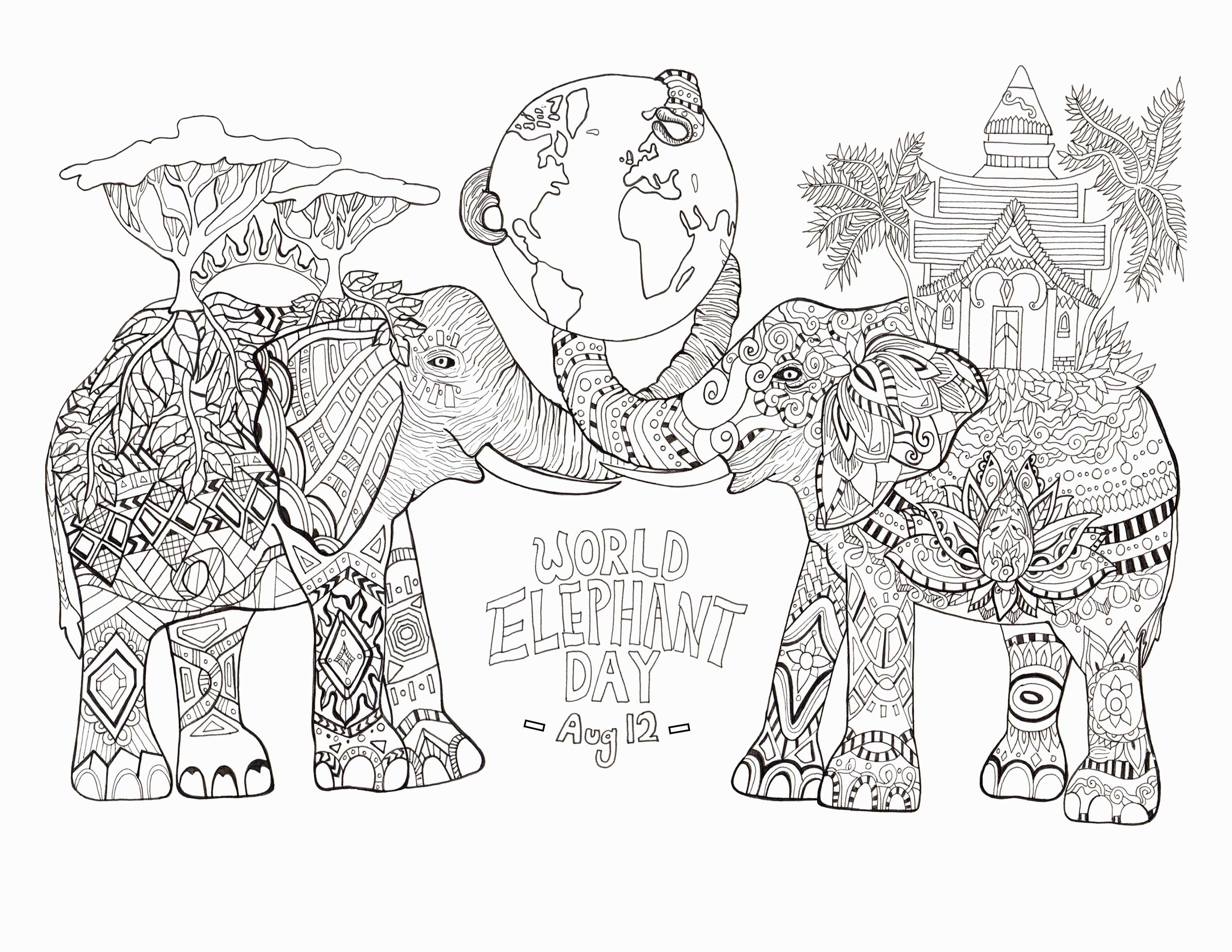 Printable Christmas Coloring Pages Nativity Scene With Stable Page Merry