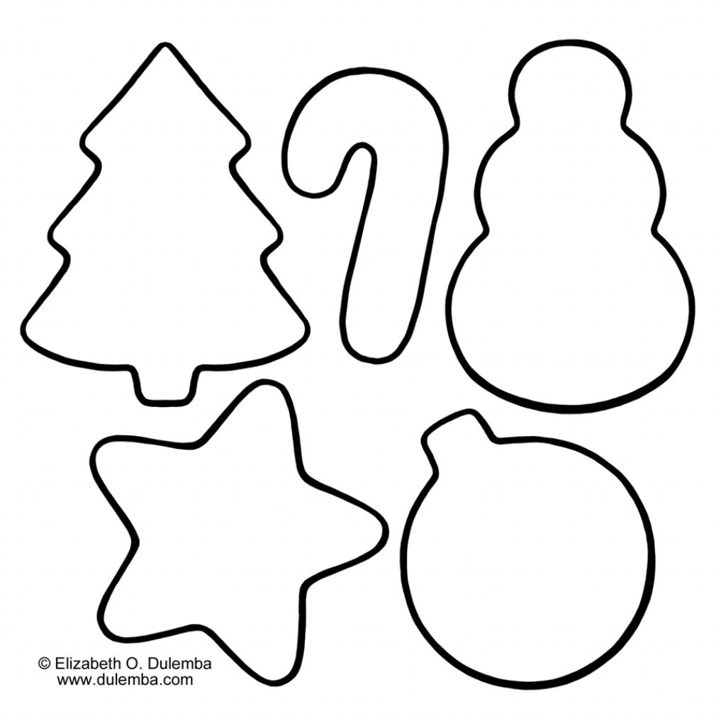 Printable Christmas Cookie Coloring Pages With In Yintan Me