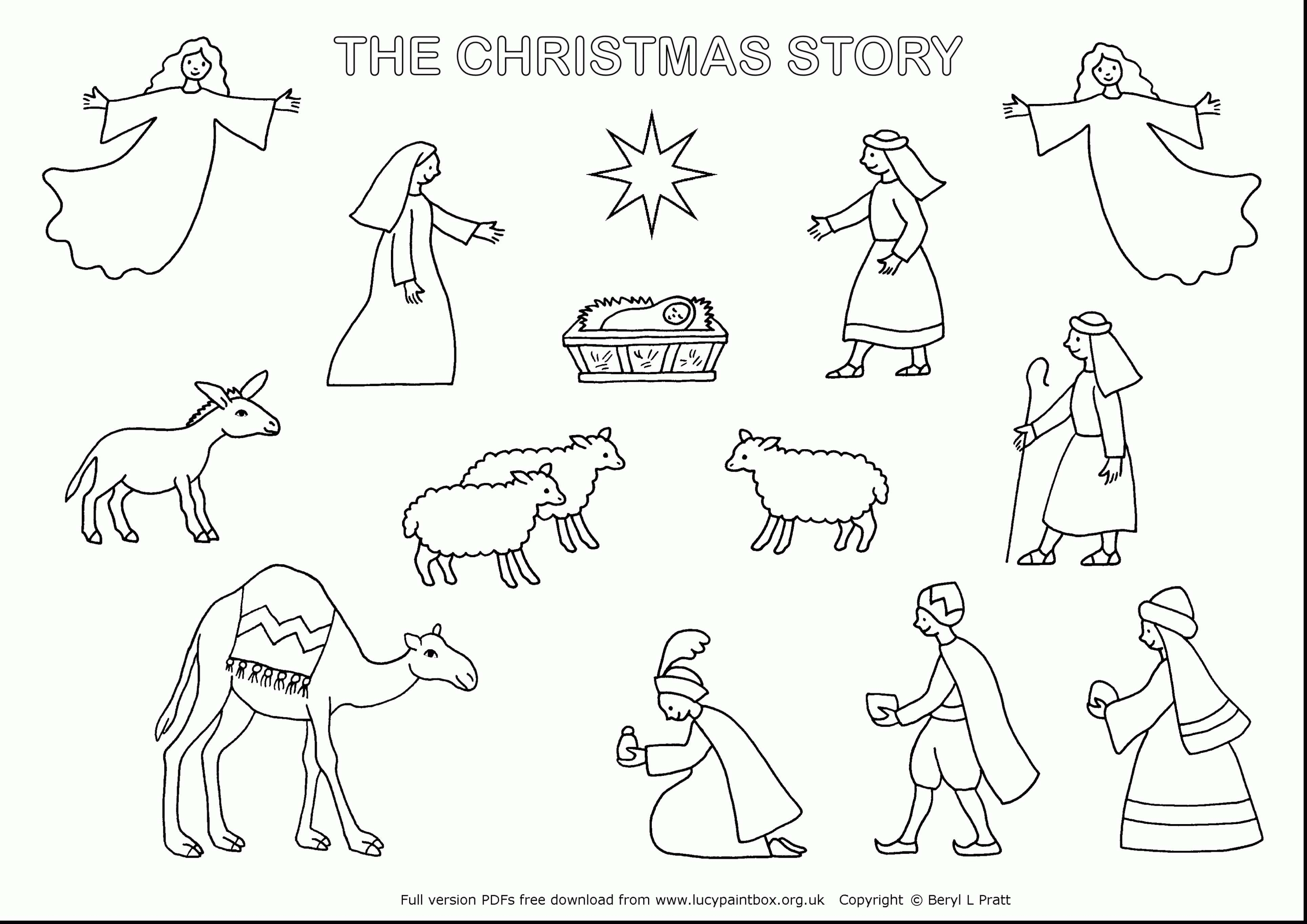 Printable Christmas Jesus Coloring Pages With Free Save