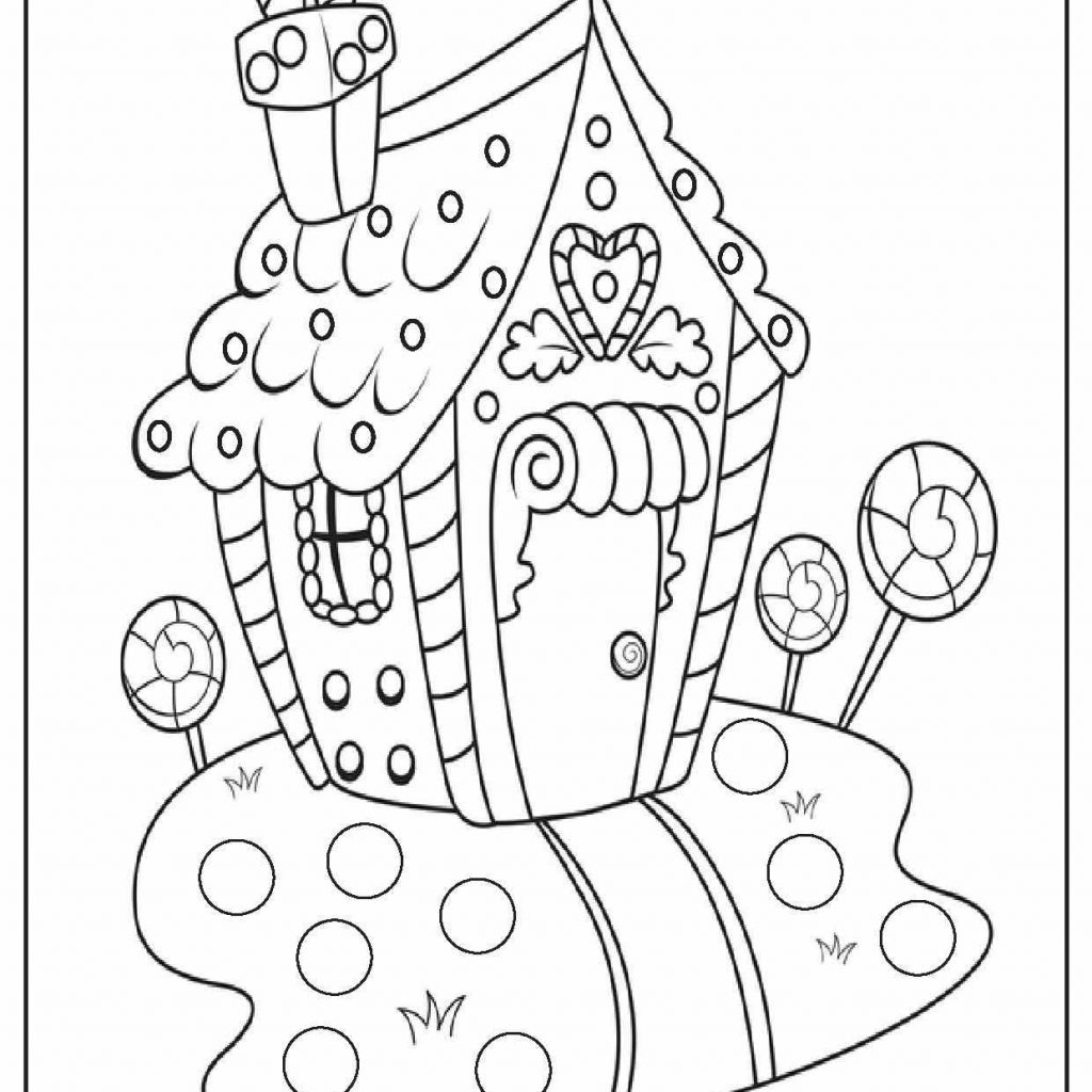 Printable Detailed Christmas Coloring Pages With