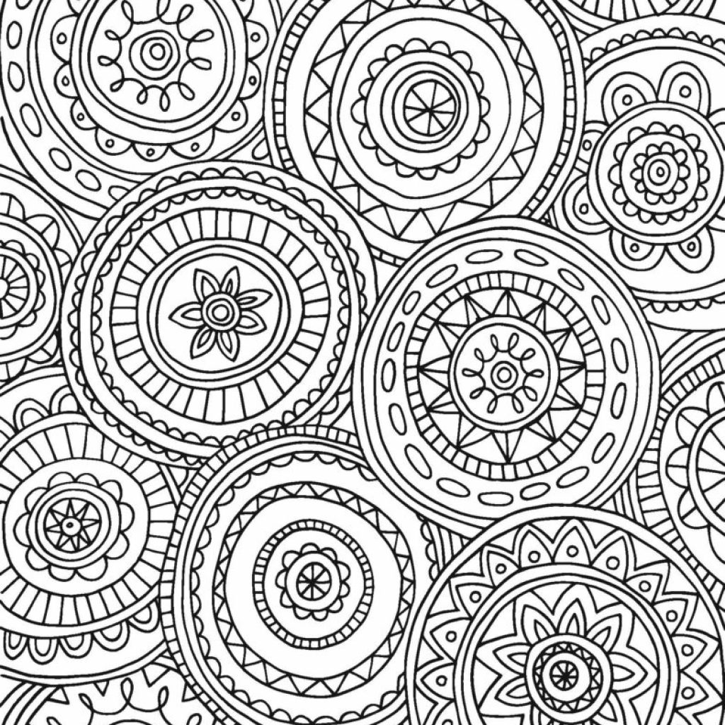 Printable Detailed Christmas Coloring Pages With Adult