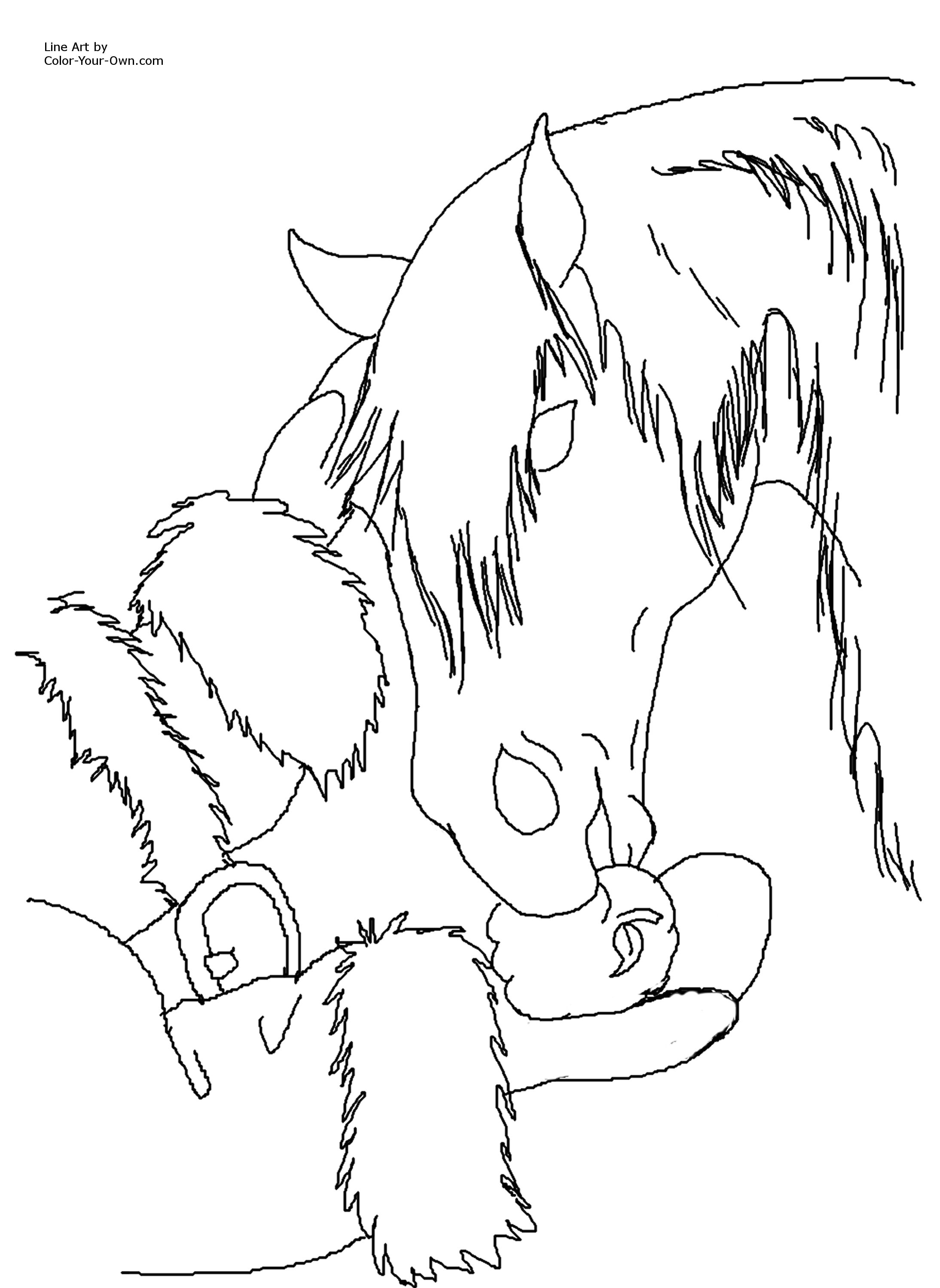 Realistic Christmas Coloring Pages With Pegasus Download Free Books