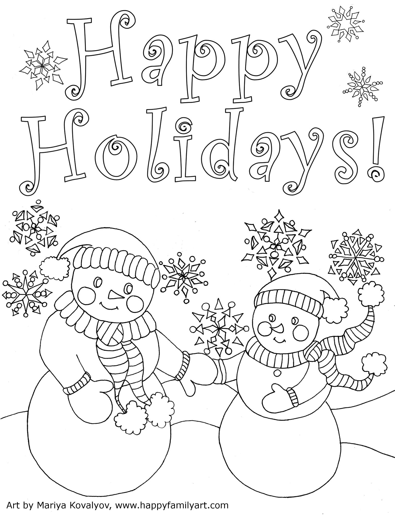 Religious Christmas Card Coloring Pages With Original And Fun Collections Pinterest