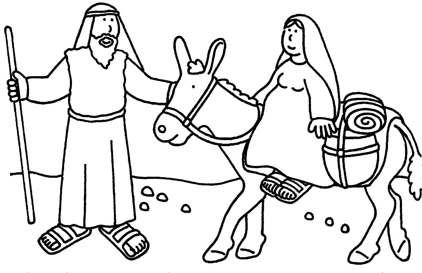 Religious Christmas Coloring Pages To Print With Collection Of For Christian Download Them
