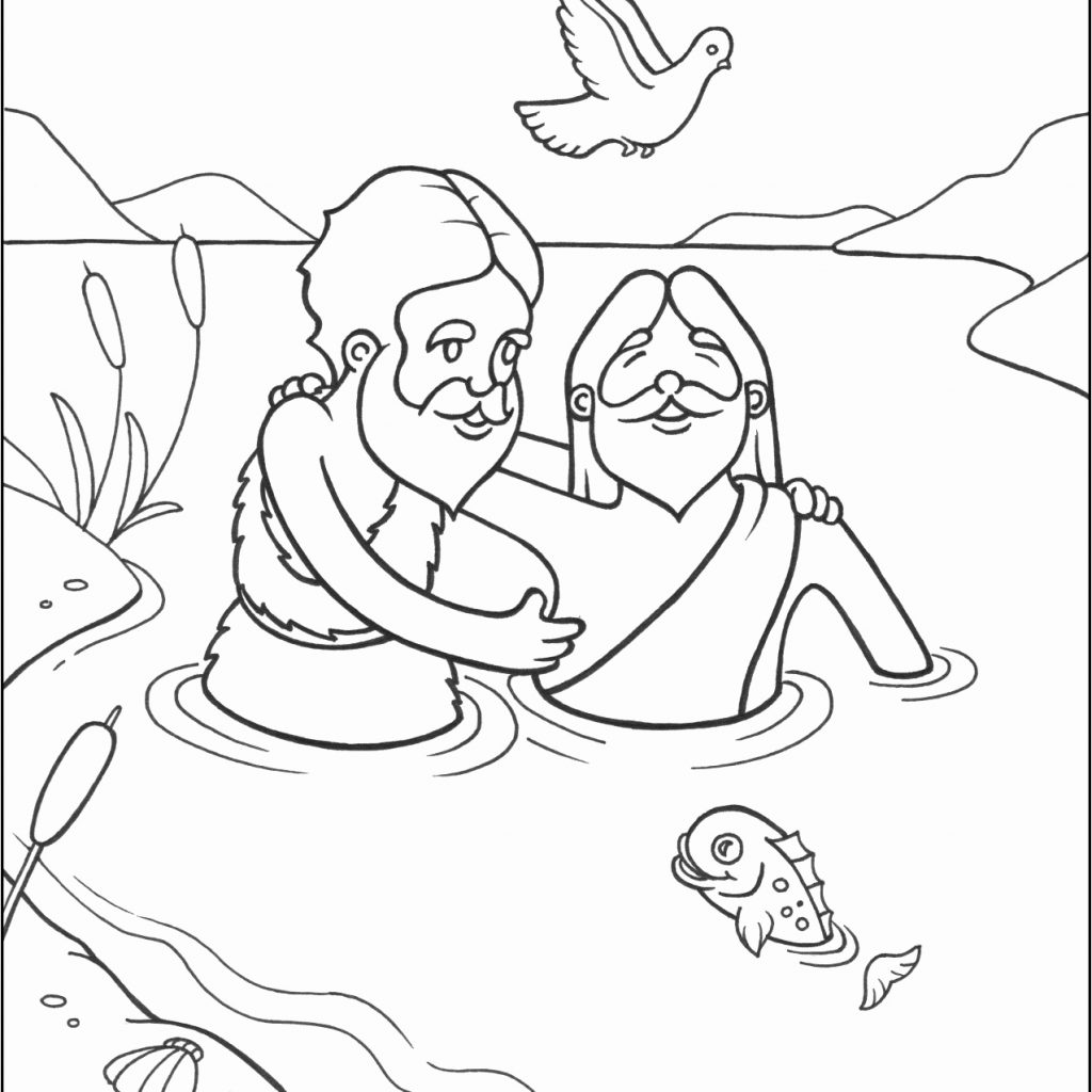 Santa And Jesus Coloring Pages With Hat Page