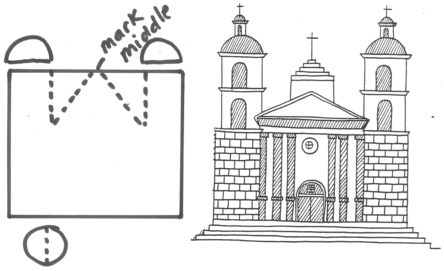 Santa Barbara Mission Coloring Page With 28 Collection Of Drawing High Quality Free