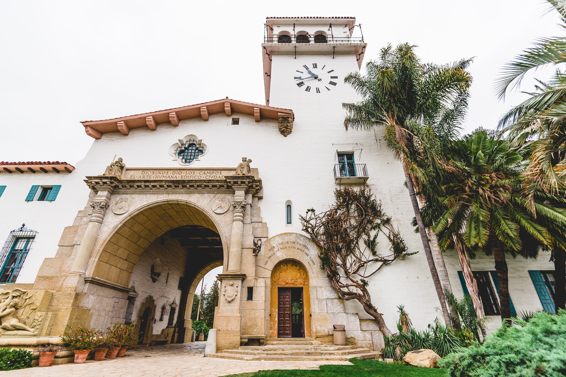 Santa Barbara Mission Coloring Page With C Wagner Photography Design LLC Elopement