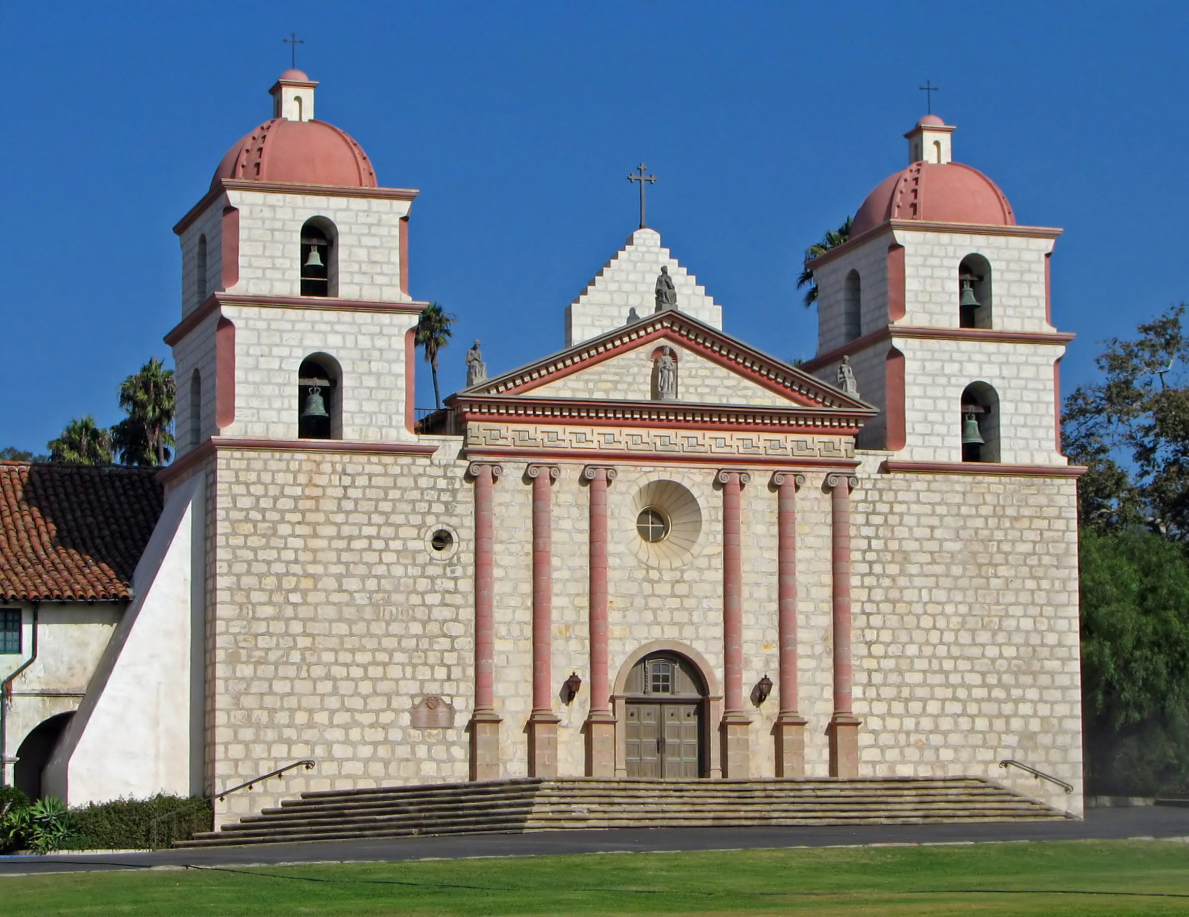 Santa Barbara Mission Coloring Page With California S Spanish Missions Go Camping America