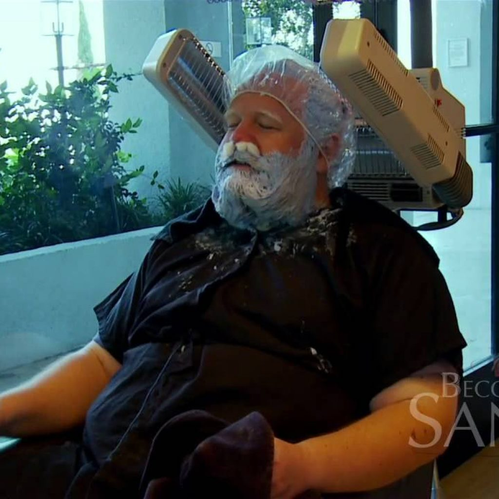 Santa Beard Coloring With Becoming Clip 1 Jack Goes To The Salon Bleach His