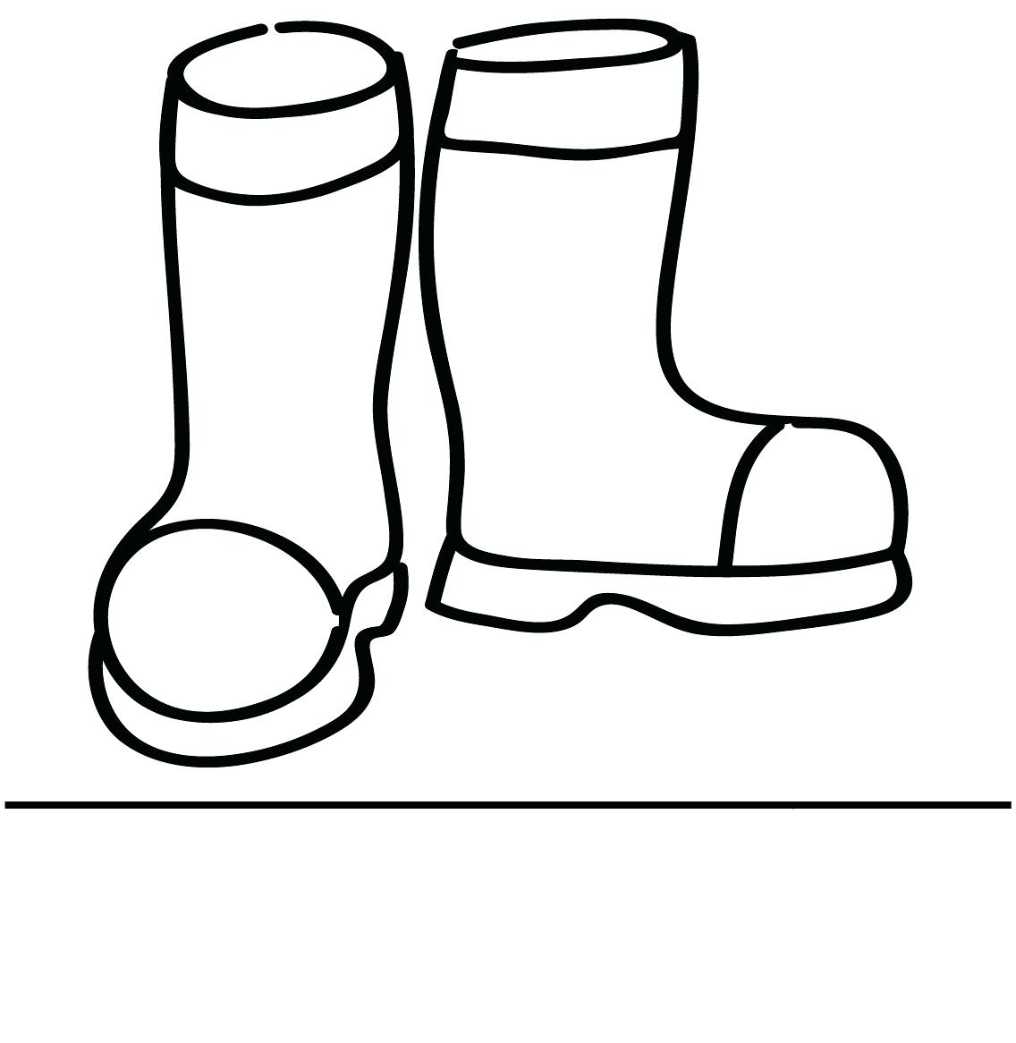 Santa Boots Coloring Pages With Cowgirl Collection Stunning Boot Page