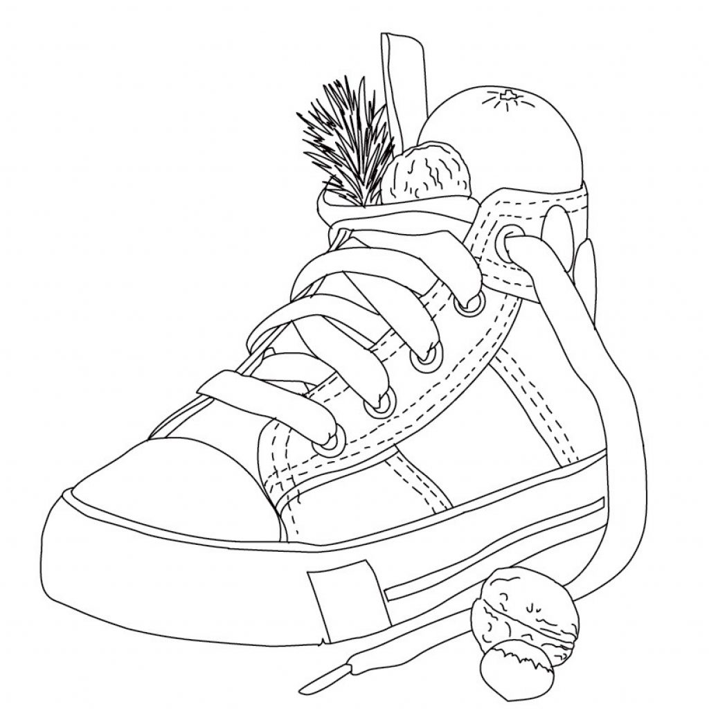 Santa Boots Coloring Sheet With CHRISTMAS TRADITIONS IN GERMANY 7 Xmas Online Books And