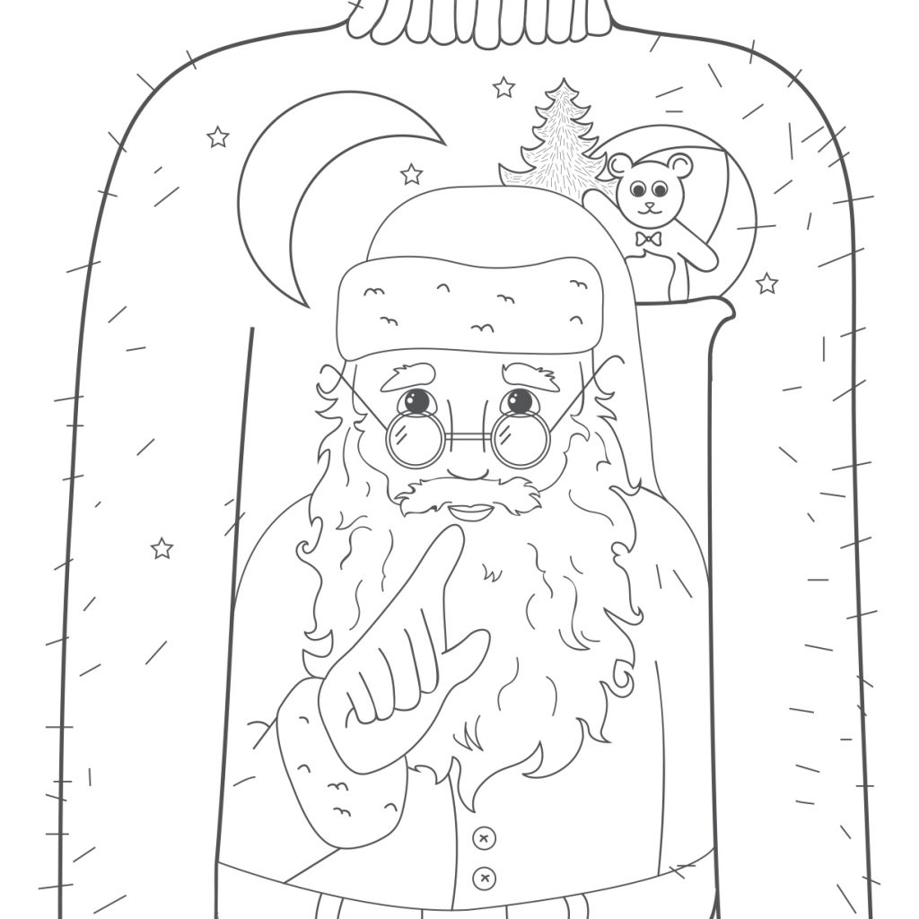 Santa Boots Coloring Sheet With Sheets Ragstock