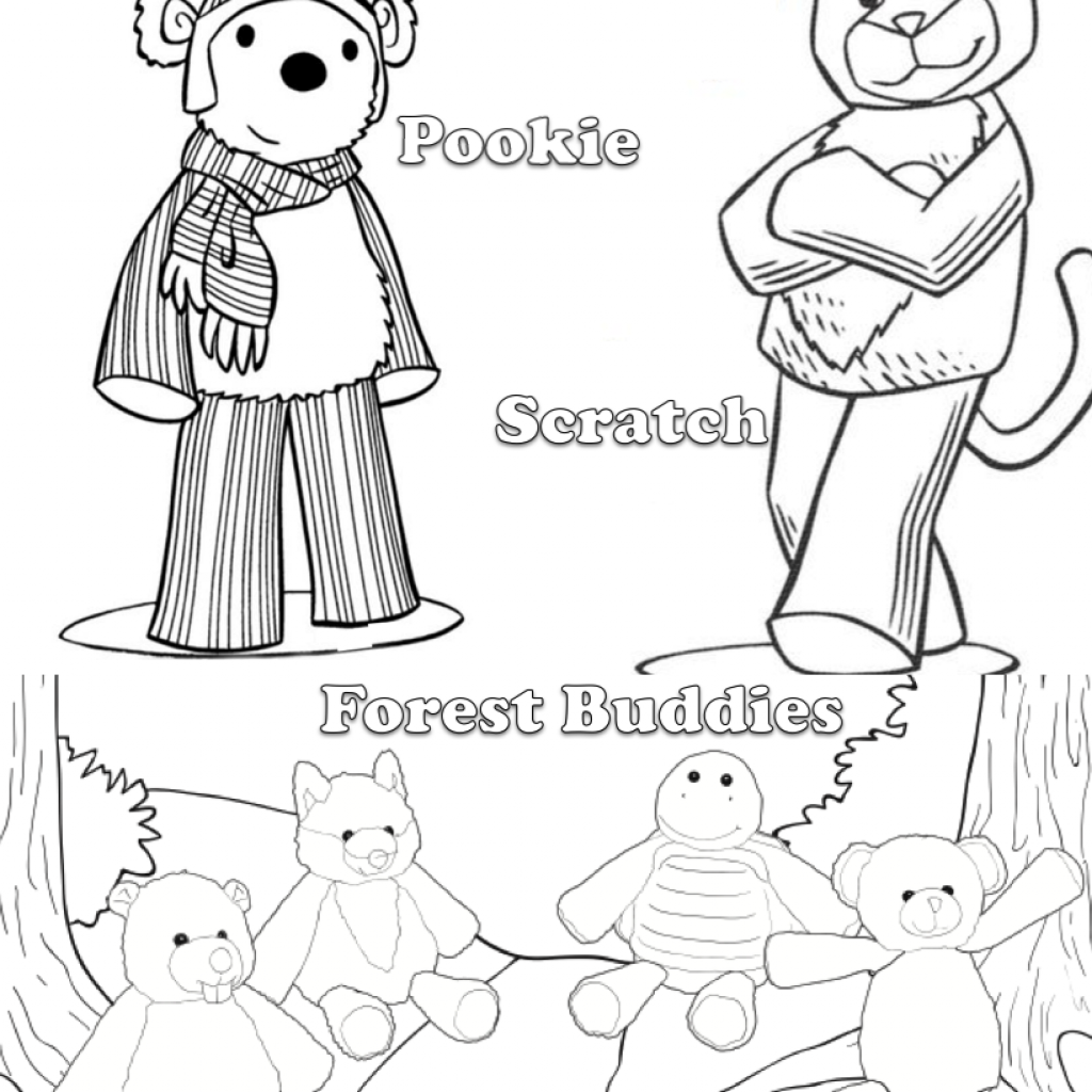 Santa Buddies Coloring Pages With Adorable Scentsy Buddy Sheet Your Kids Will LOVE Bringing