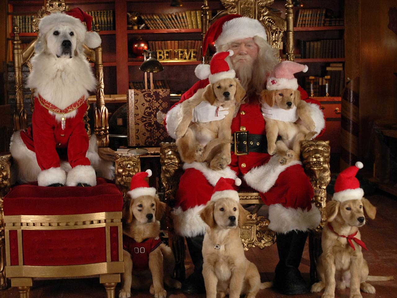 Santa Buddies Coloring Pages With Movies Disney