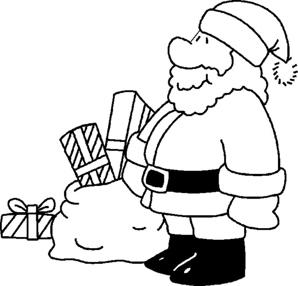 Santa Claus Christmas Coloring Pages For Kids With 20 Awesome Of And Reindeer User Discovery