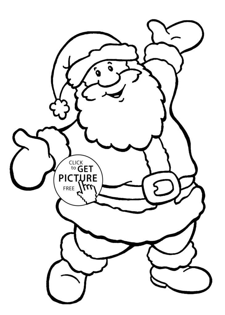 Santa Claus Coloring Games Free Online With Best Drawing For Kids At