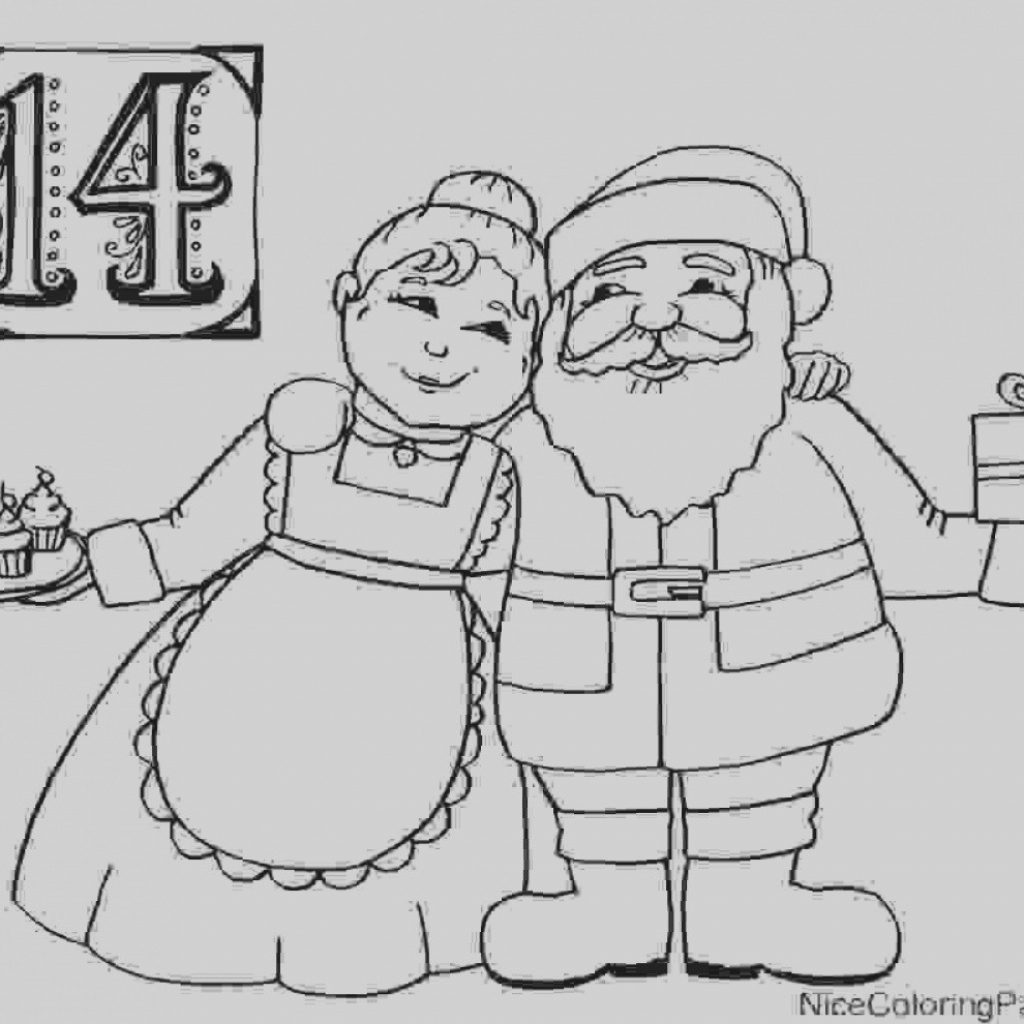 Santa Claus Coloring Games With Elegant Of And Mrs Pages 5 Nice For Kids Lovely