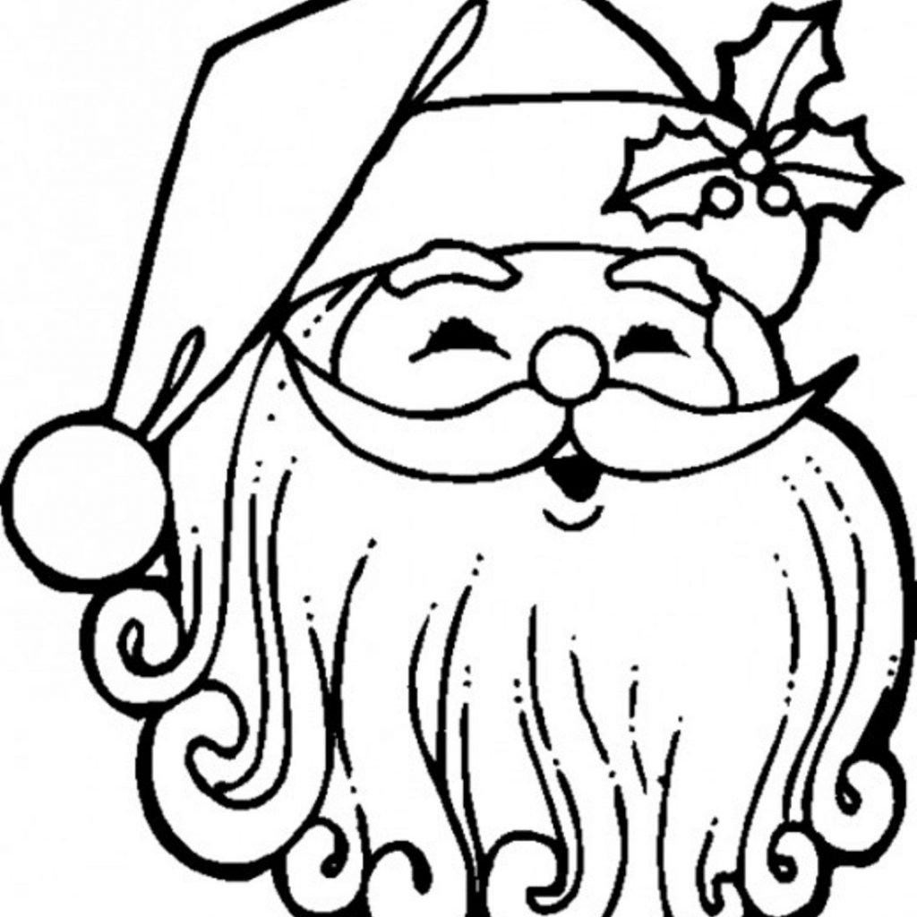 Santa Claus Coloring Pages Free With Download Best