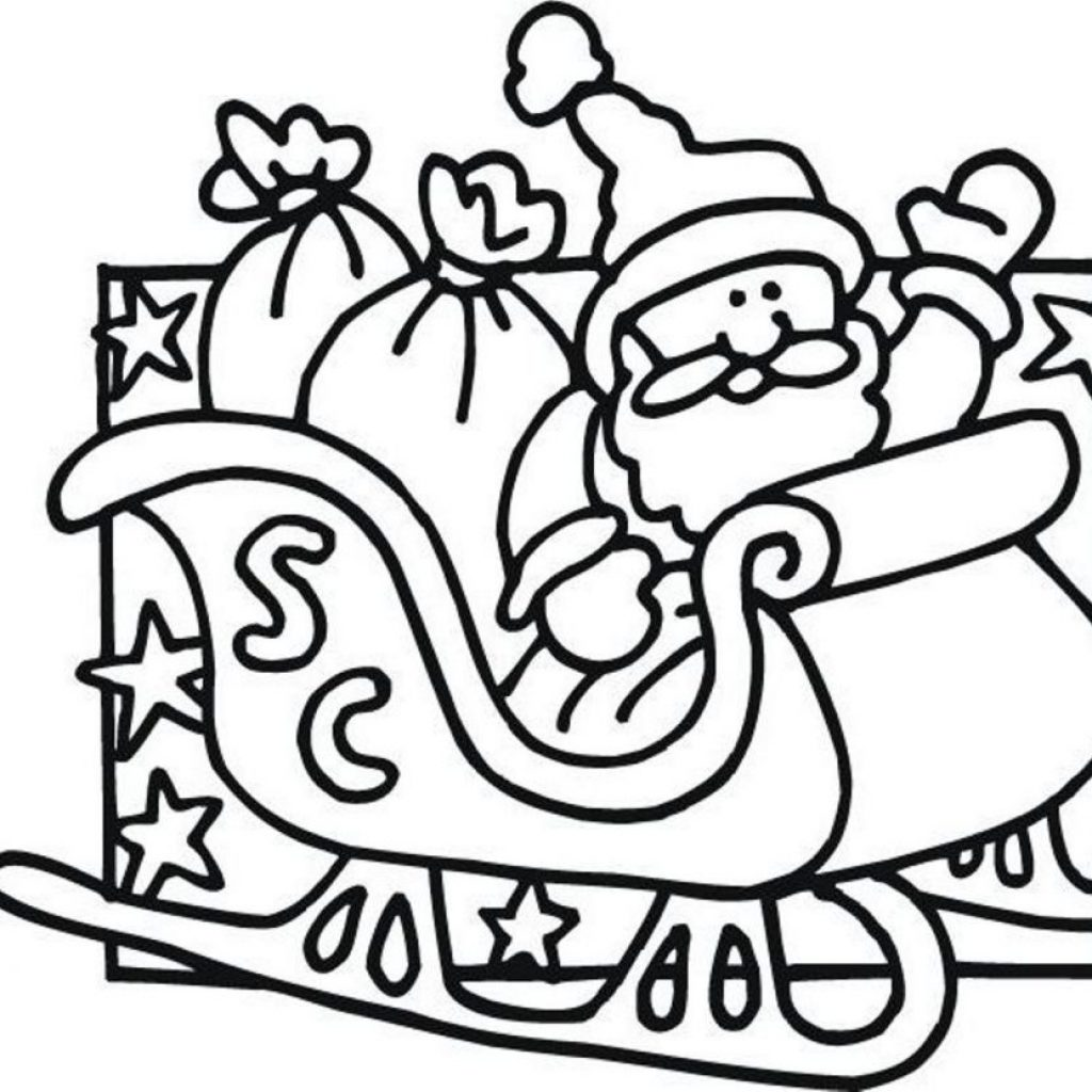 Santa Claus Coloring Pages To Print With Color Chronicles Network