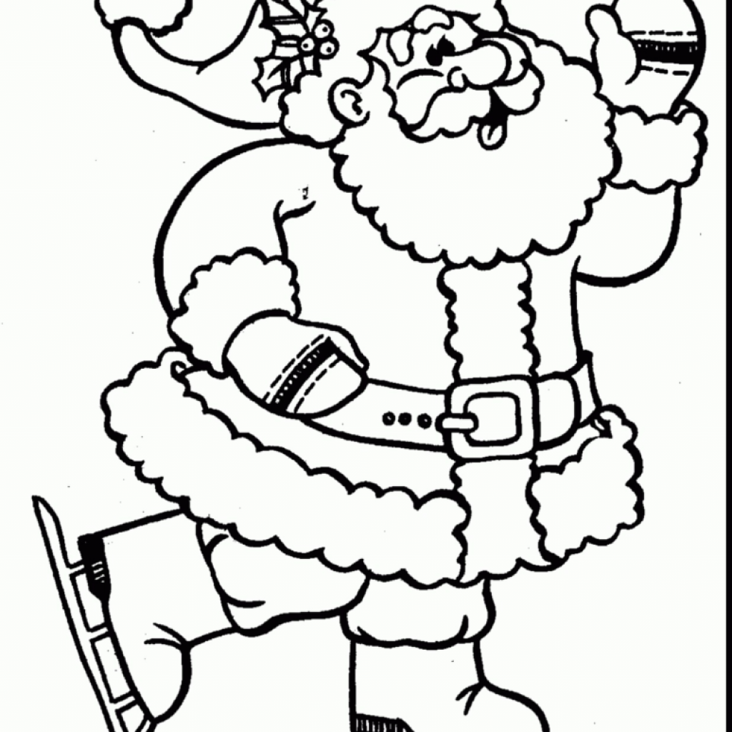 Santa Claus Coloring Pages To Print With New Christmas Rallytv Of Mst Dn Me