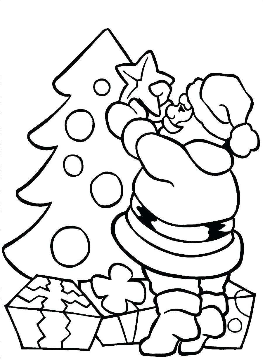 Santa Claus Coloring Pics With Collection Of Free Pages Download Them And