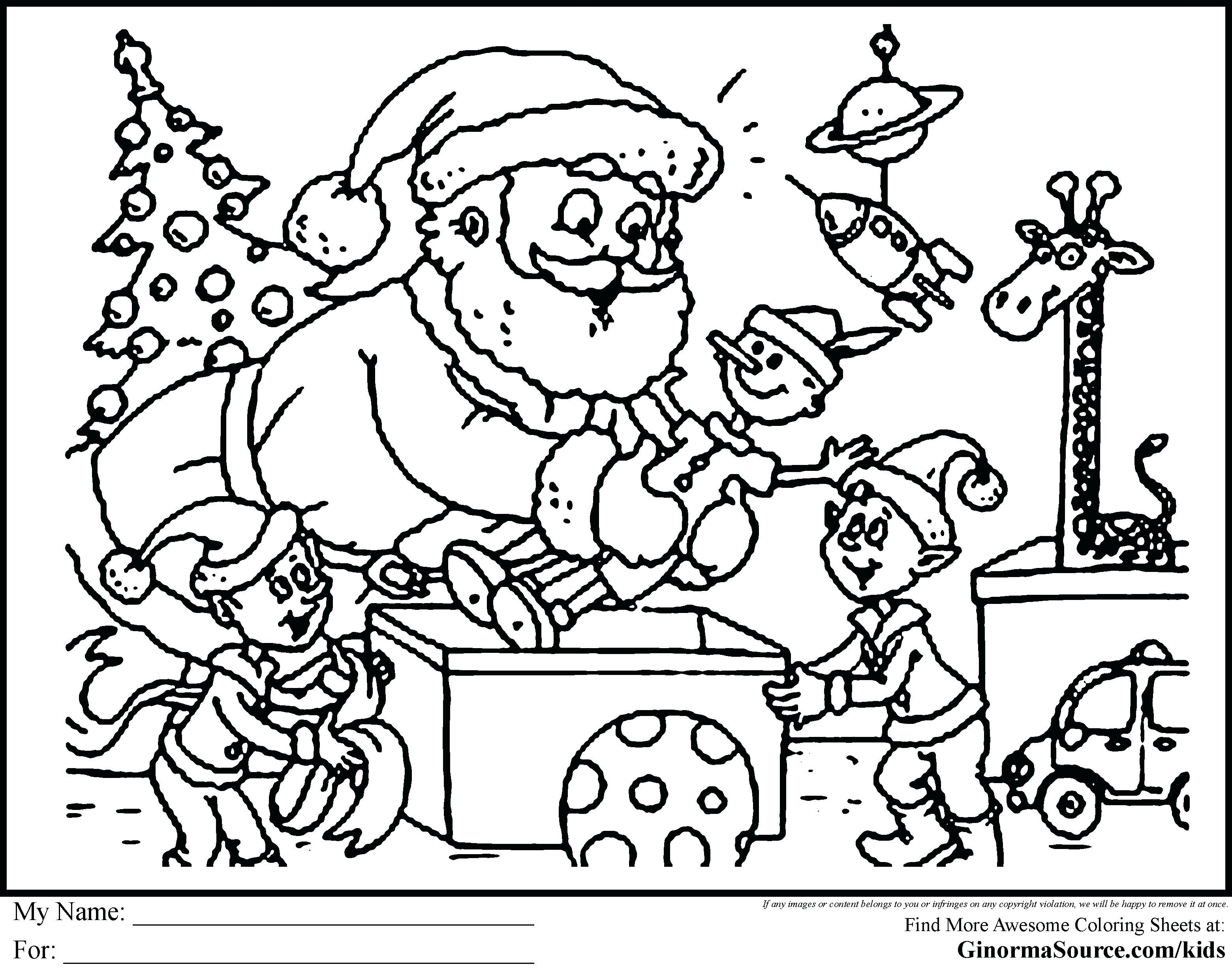 Santa Coloring Books With Disney Xmas Pages Save And Stunning