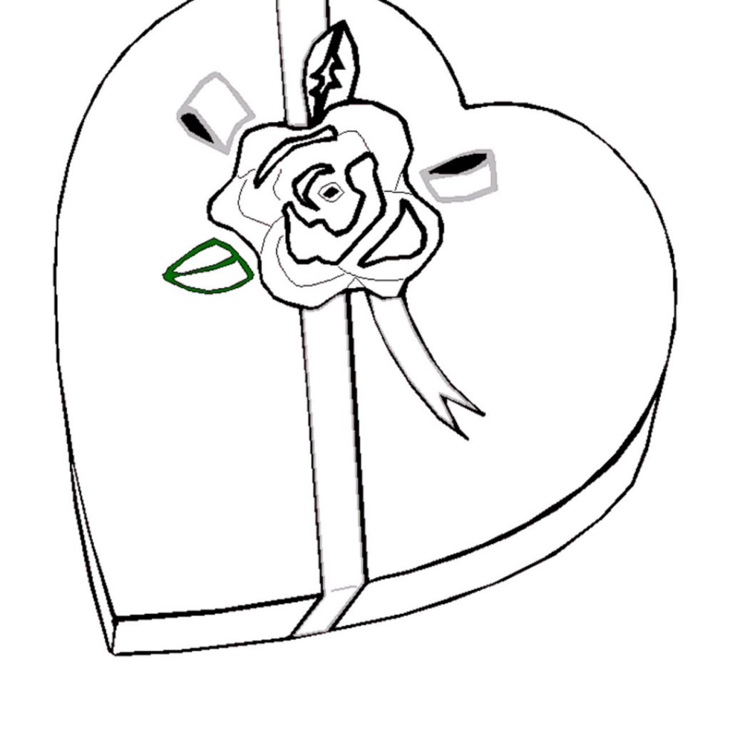 Santa Coloring Pages Crayola With Valentine 2018 Z31 Page