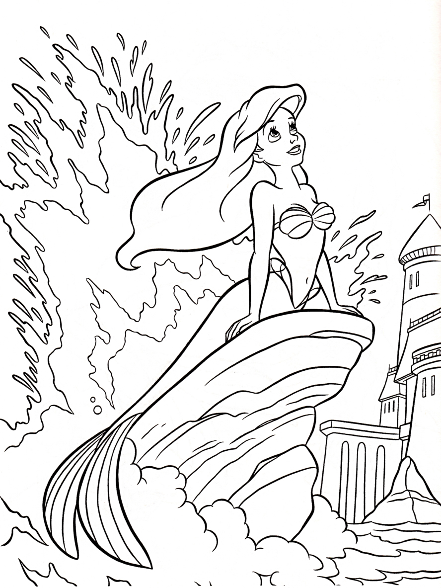 Santa Coloring Pages Crayola With Z31 Page