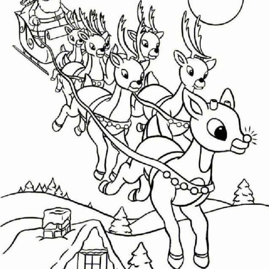 Santa Coloring Pages With Free Printable Claus For Kids