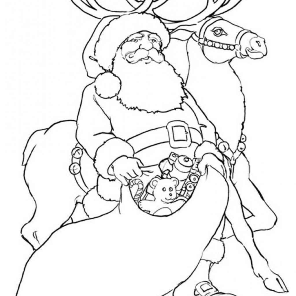 santa-coloring-pages-with-reindeer-and-to-print-coloringstar